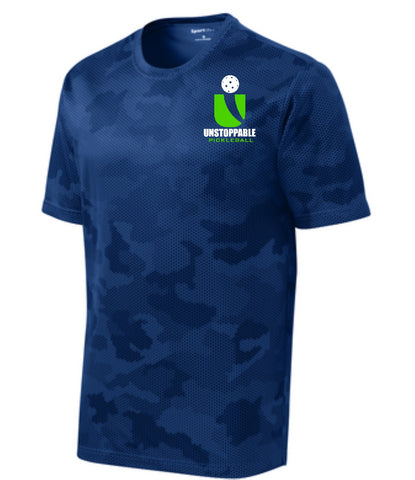 Unstoppable Pickleball - First Edition Navy Camo Shirt