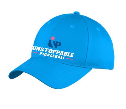 Unstoppable Pickleball Saphire Blue Unstructured Hat
