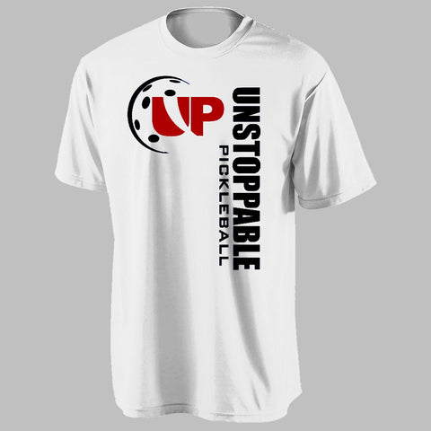 Unstoppable Pickleball - First Edition White Pickleball Shirt