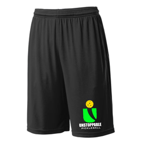 Unstoppable Pickleball - First Edition Dri Fit Black Shorts
