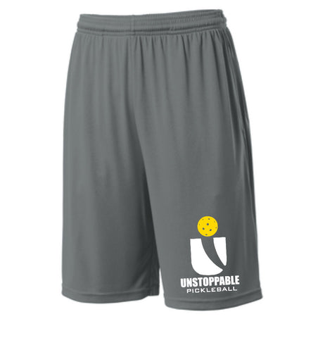 Unstoppable Pickleball - First Edition Dri Fit Iron Grey Shorts