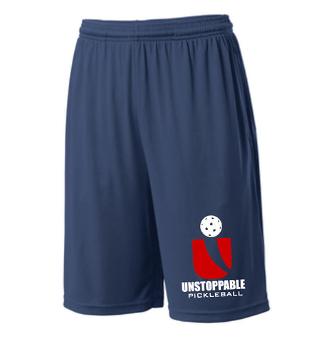 Unstoppable Pickleball - First Edition Dri Fit Navy Shorts