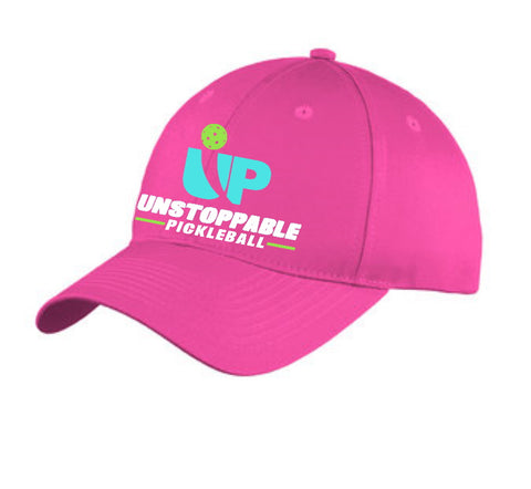 Unstoppable Pickleball Sangria Pink Unstructured Hat