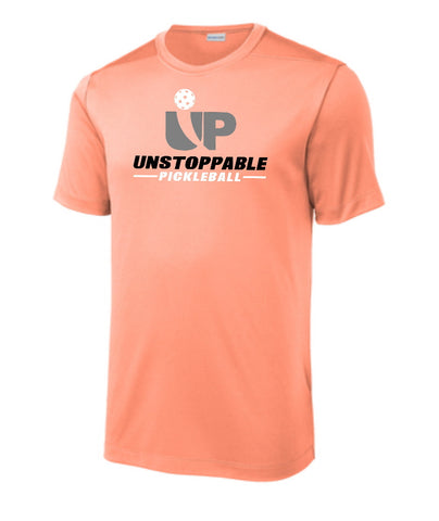 Unstoppable Pickleball - First Edition Soft Coral Pickleball Shirt