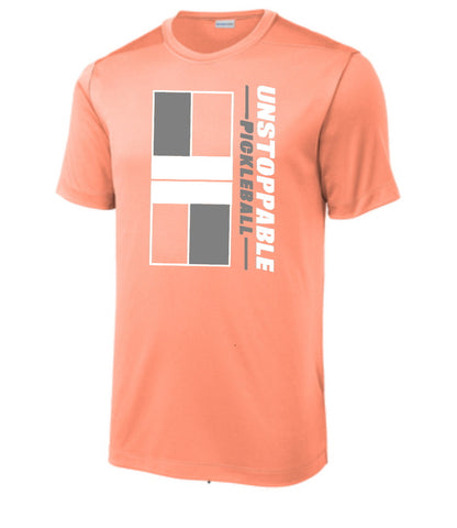 Unstoppable Pickleball - First Edition Soft Coral Pickleball Court Shirt