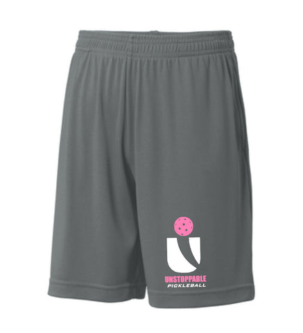 Unstoppable Pickleball Juniors - Unisex Iron Grey Shorts