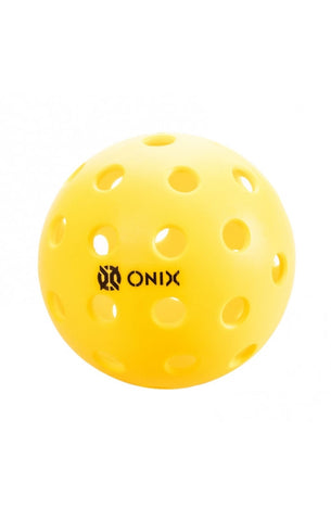 Onix Pure 2 Outdoor Yellow Pickleball with Free Shipping on any Quantity!
