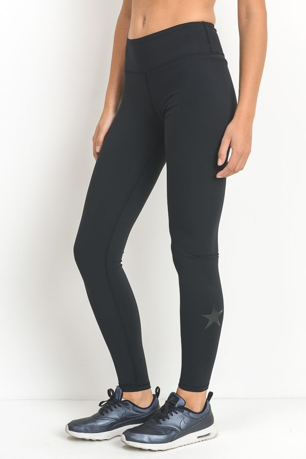 'All-Star' Leggings (Black)