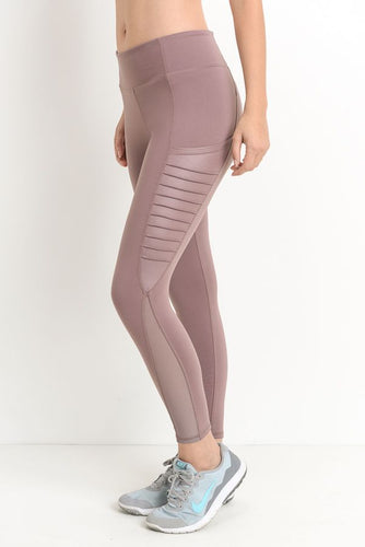 'Christina' Leggings (Mauve)