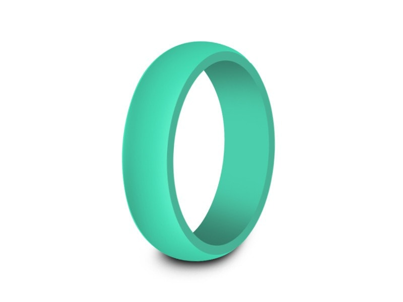 6MM ACTIVE LIFE STYLE SILICONE WEDDING BAND - Vantani Wedding Bands