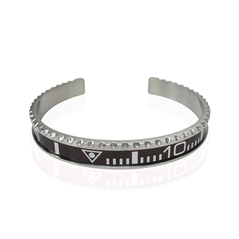 Stainless steel Watch Speedometer Bracelet - Vantani Wedding Bands