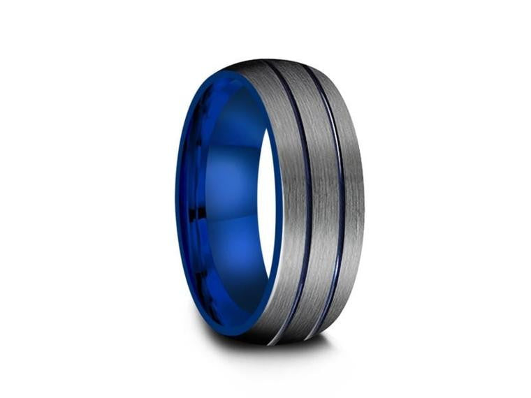BLUE TUNGSTEN RINGS