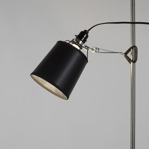 Kevin Small Clip Lamp Black Finish - Lighting | LightsUP