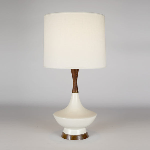 Bisque Ceramic finish with Ivory Ipanema shade