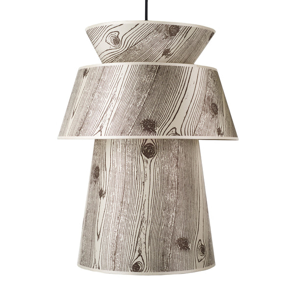 Faux Bois Light shade
