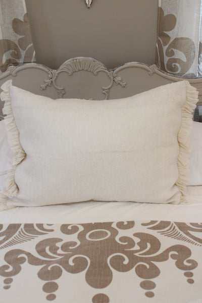 Couture Dreams Whisper Standard Shams Ivory, Ivory