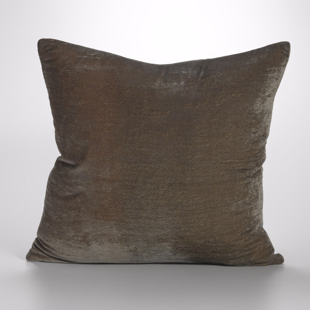 Couture Dreams Luscious Decorative Pillow, Soft Earth