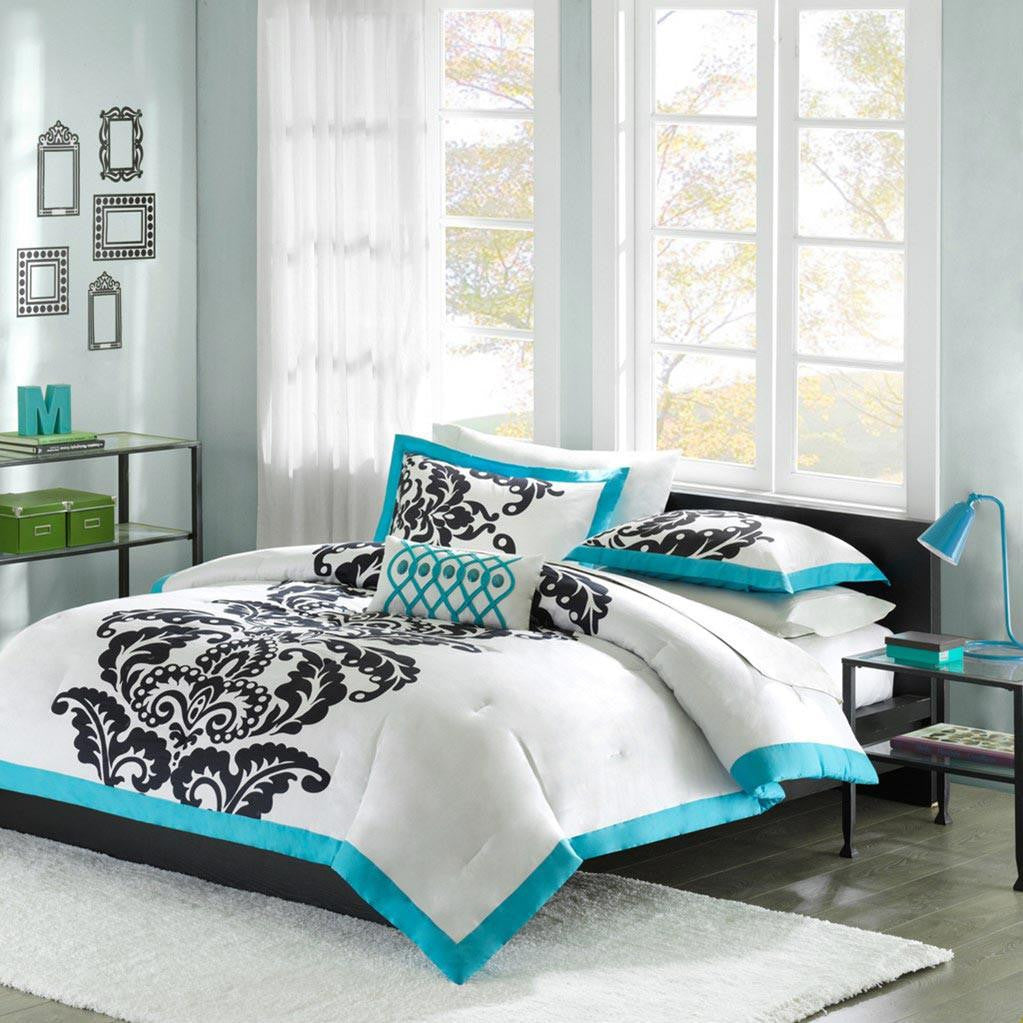 Florentine Cotton Printed Duvet Mini Set - Bedding | Mi Zone