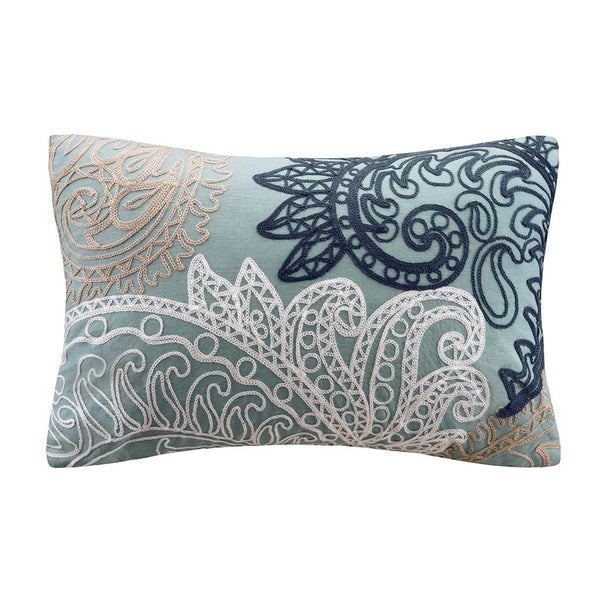 Kiran Oblong Pillow Blue