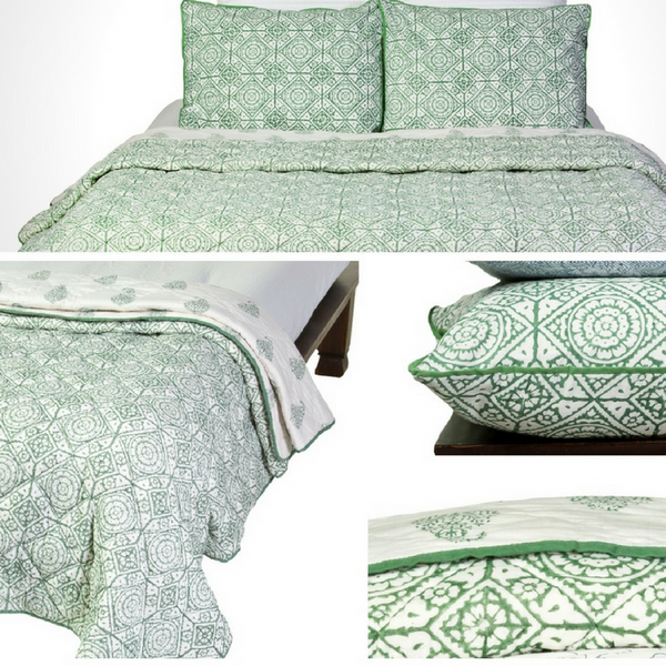 Tranquility Tangier Reversible Quilt