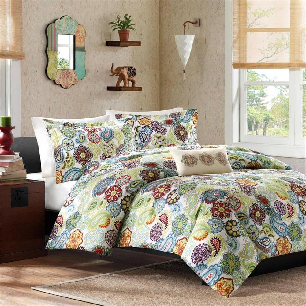 Tamil Polyester Microfiber Printed Quilt Mini Set - Bedding | Mi Zone