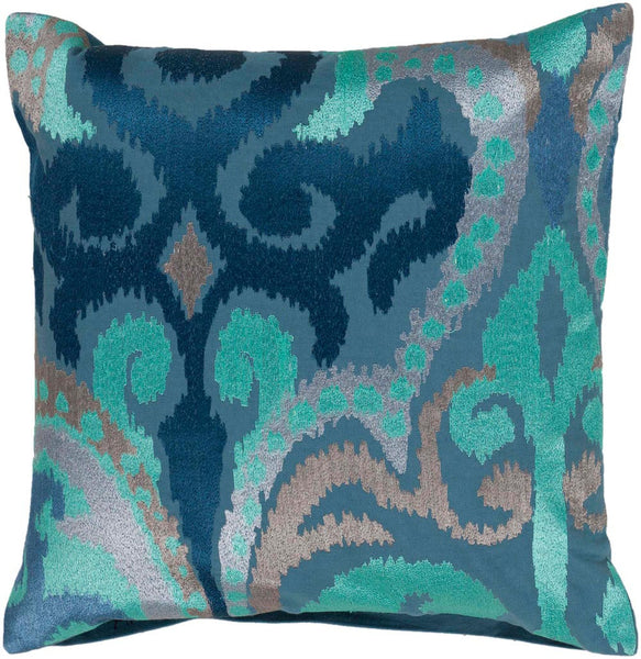 Ara decorative pillows in Blue, Blue