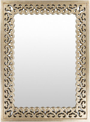 Becklin wall mirror gold