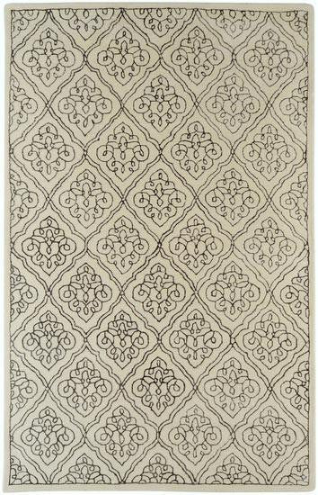Surya Candice Olson Design Modern Classics Hand Tufted Rugs - Beige, Chocolate
