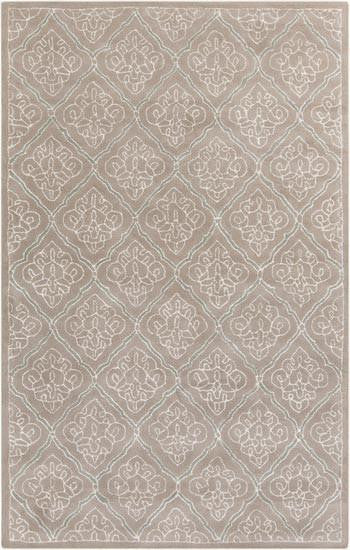 Candice Olson Design Modern Classics Hand Tufted Wool Rugs - Gray, Ivory, Taupe