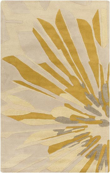 Candice Olson Design Modern Classics Hand Tufted Wool Rugs - Beige, Gold, Gray, Ivory