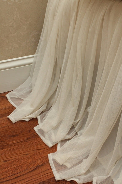 Whisper Bed Skirt Ivory