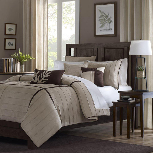 Dune Polyester Micro Suede 6 Pieces Set - Bedding | Madison Park