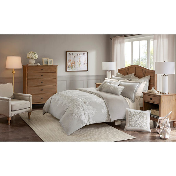 Barely There Natural Color 8 Piece Comforter Set