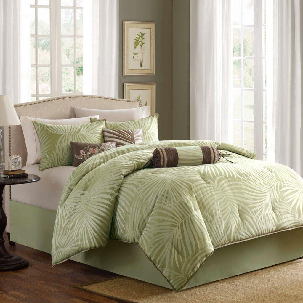 Freeport Polyester Jacquard 7 Pieces Set - Bedding | Madison Park