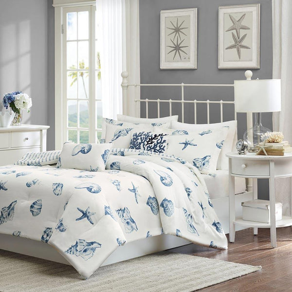 Beach House Cotton Comforter Set - Bedding | Harbor House