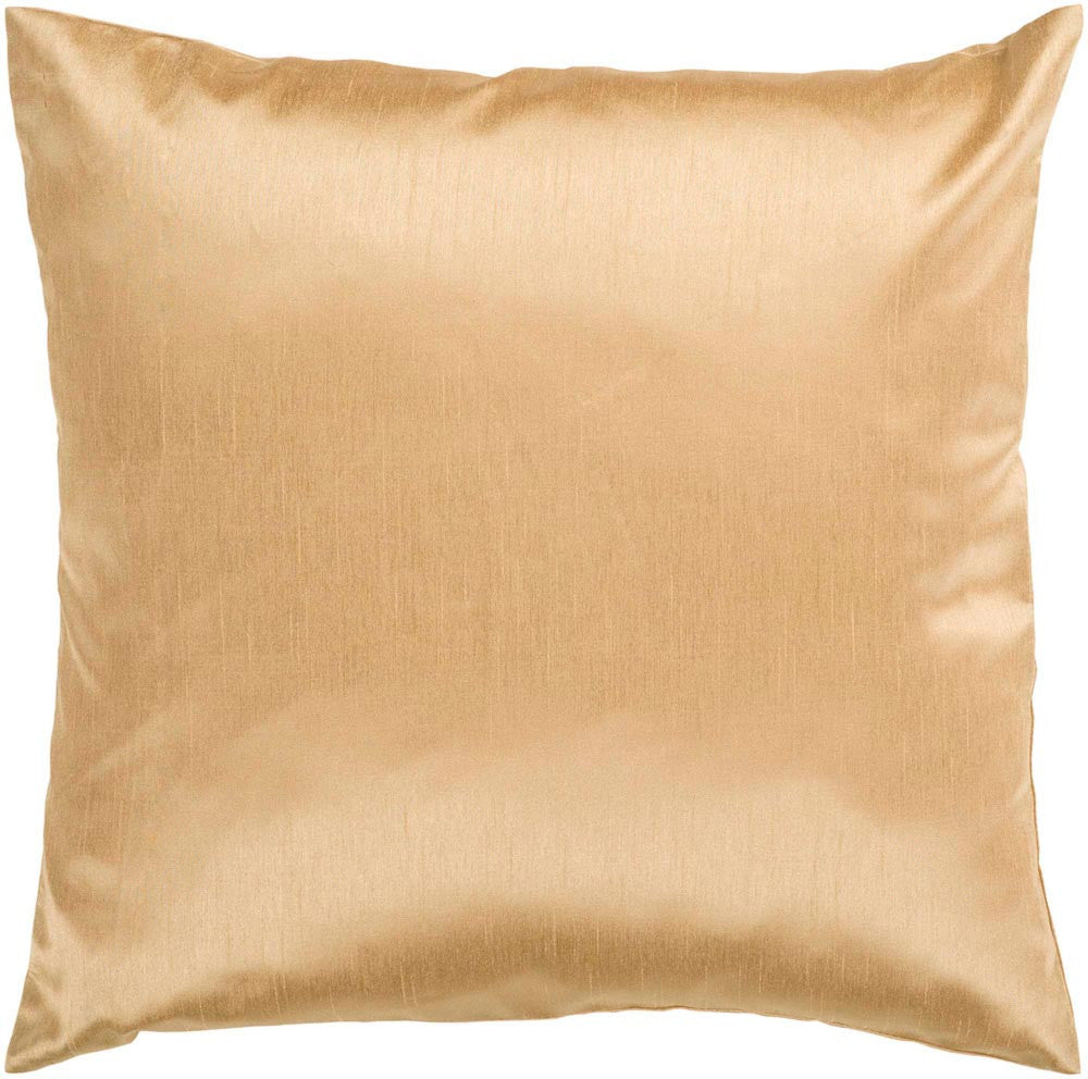 Solid Luxe decorative pillows in Brown