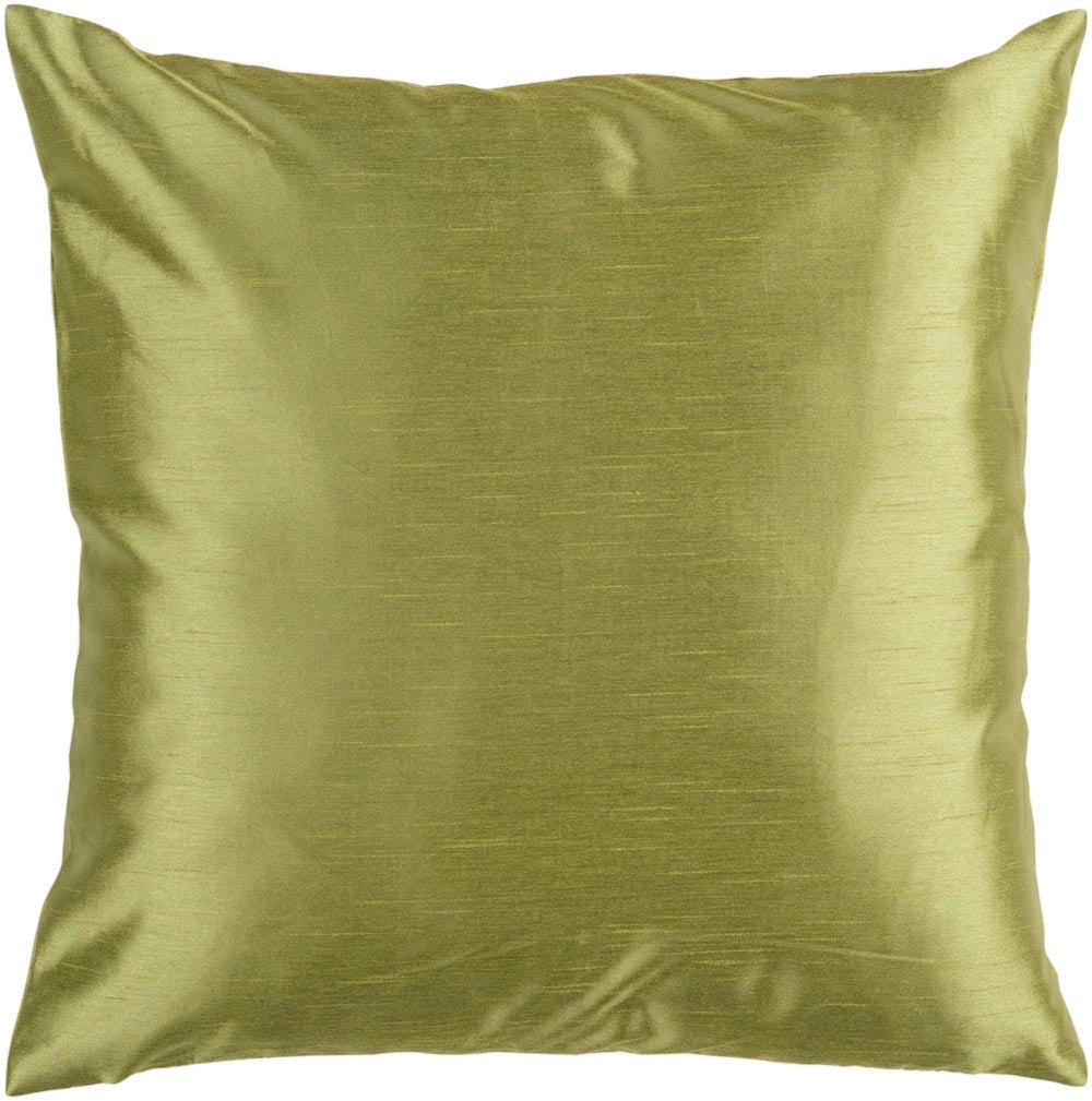 Solid Luxe decorative pillows in Green