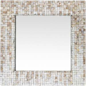 Hornbrook wall mirror gray