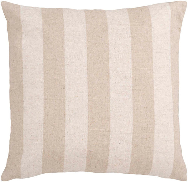 Simple Stripe decorative pillows in Neutral, Neutral