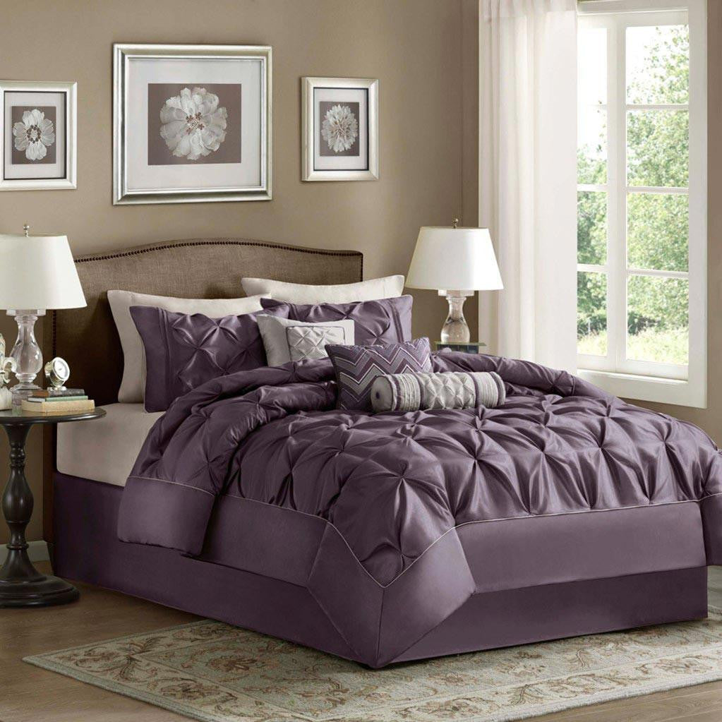 Laurel Polyester Polyoni Pieced 7 Pieces Set - Bedding | Madison Park
