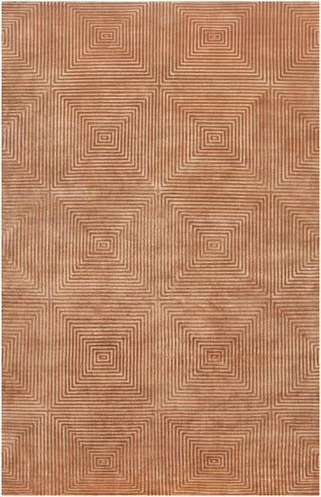 Candice Olson Design Luminous Hand Knotted Viscose Accents Wool Rugs - Sienna