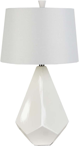Modified Bell White Table Lamp