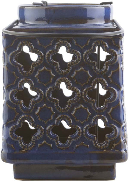 Luau Contemporary Cobalt Color Lantern  small