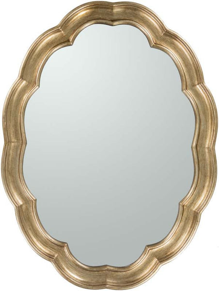 Milburn Wall Mirror Gold
