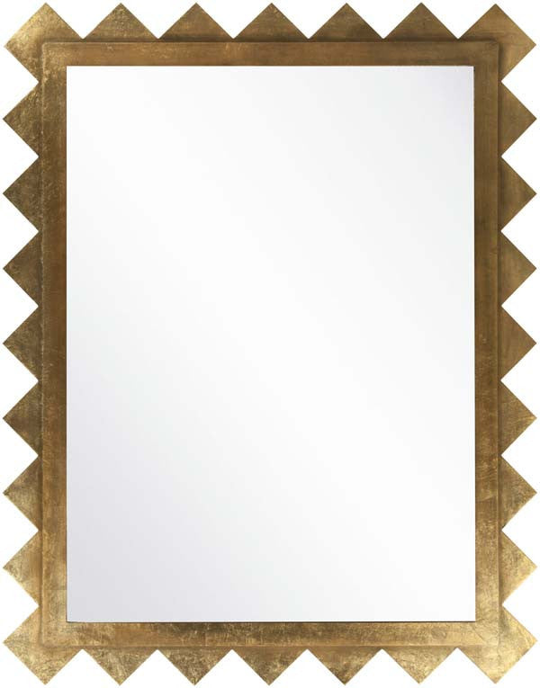 Surya Wall decor Wall Mirror Brillant Gold