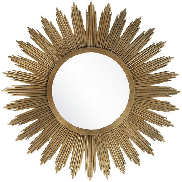 Surya Wall Decor Mirror Round