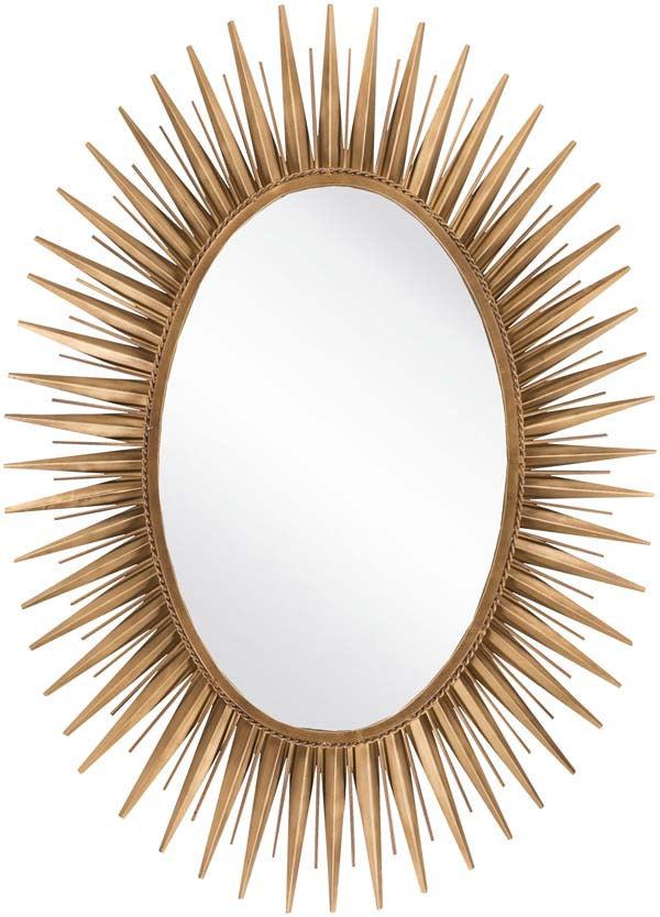 Surya Wall decor Wall Mirror Antique Gold
