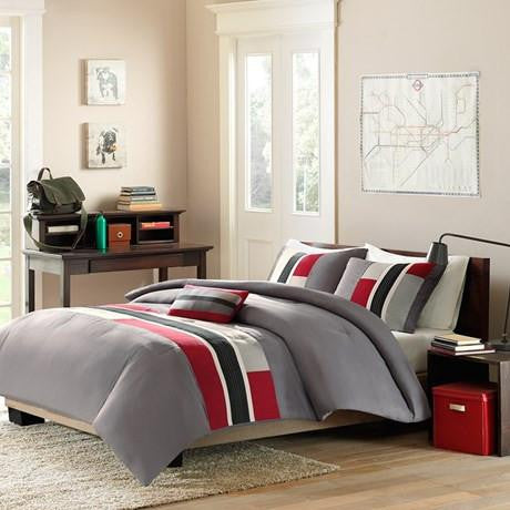 Pipeline Polyester Microfiber Printed Comforter Mini Set - Bedding | Mi Zone