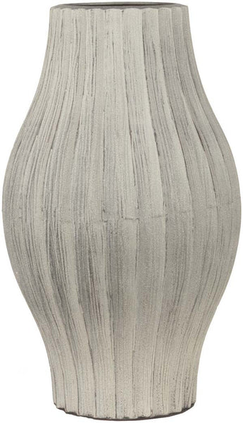 Natural Modern Taupe Color Table Vase  large