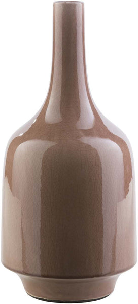 Olsen Modern Mocha Color Table Vase  large
